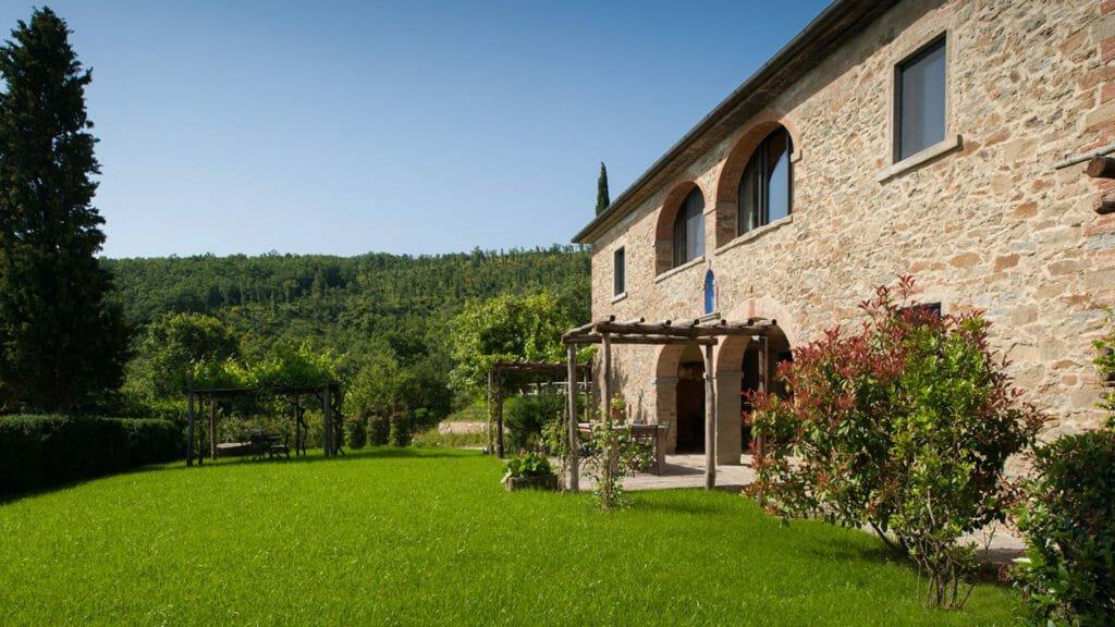Villa-Leopoldina Toscana Italien