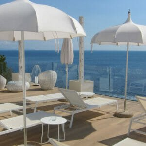 Hotel Club due Torri solterrasse