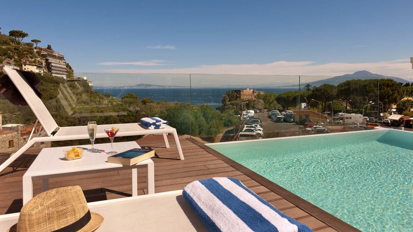 Hotel Rivage Sorrento pool