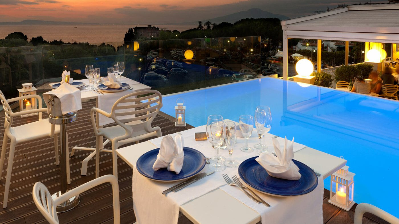 Hotel Rivage Sorrento Restaurant