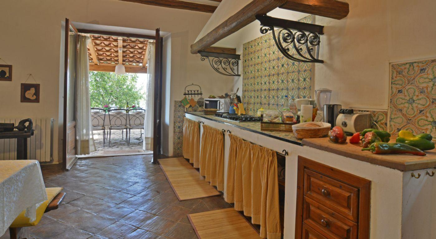 Villa Ciliegio Kitchen , Sicilien