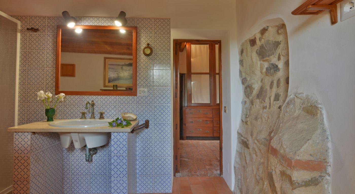 Villa La Giara Bathroom , Sicilien